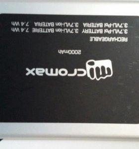 Аккумулятор для Micromax А065