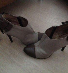 Ботинки женские 38 кожа