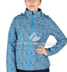 Новая куртка-ветровка на флисе48-50