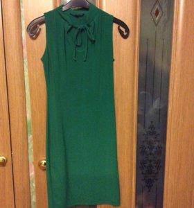 Платье , выше колен.