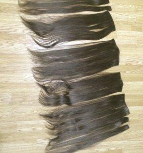 искусственные термо волосы  на заколках