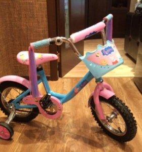 """Велосипед """"Свинка пеппа"""""""
