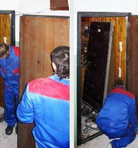 установка любых металлических дверей