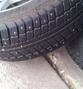 Комплект зимних колес на дисках