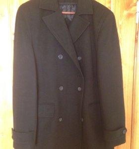 Мужское кашемировое пальто. р-р 52-54