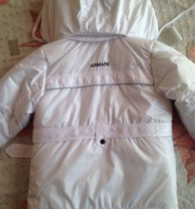 Суперская курточка Armani на 4 года