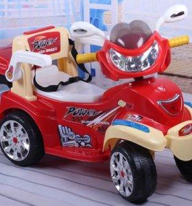 Мотоцикл детский (электромотоцикл)