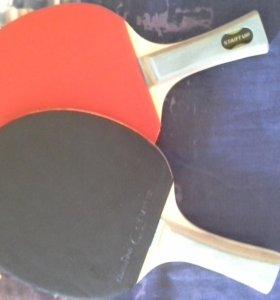 Новенькие ракетки для игры в пинг-понг