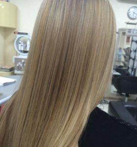 Востановление волос , выпрямления волос ,