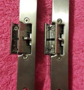 Электромеханическая защелка для стеклянных дверей.