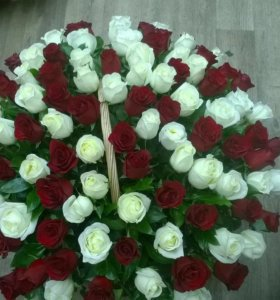 Шикарные букеты роз из 101и51от Moskov Royal Rose