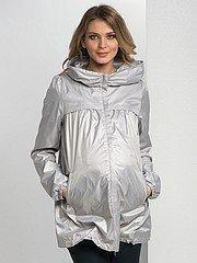 Куртка-плащ для беременной на осень