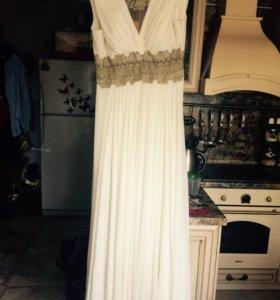 Греческое платье и накидка