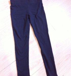 Новые серые брюки лосины 42р