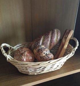 Искусственный хлеб для интерьера