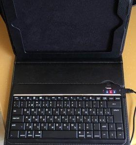 Чехол с клавиатурой для планшетов и Ipad Air 2,3
