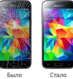 Замена стекла Samsung