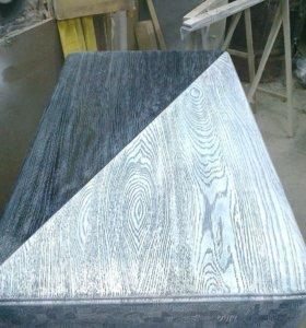 Окраска Шлифовка изделий из массива дерева