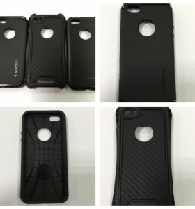 Чехол противоударный черный Iphone 5/5s/5se/6/6s