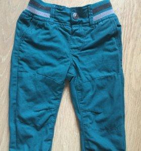 джинсы 9-12 мес новые