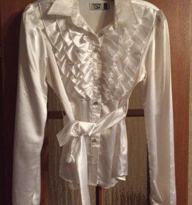 Блузка для девочек. Школьная форма