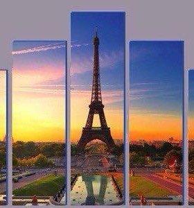 """Картина""""Париж"""""""
