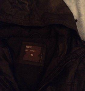 Мужская куртка из натуральной кожи.