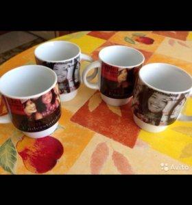 Кофейные чашечки 4 шт