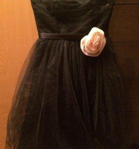 Платье нарядное naf-naf, размер 42-44.
