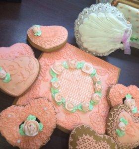 Пряничные наборы на торжества , свадьбы, дни рожде