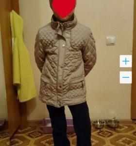 Стильная курточка Zara 6-8лет