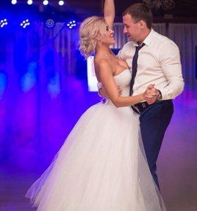 Свадебное шикарное платье!