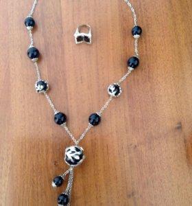 Ожерелье и кольцо