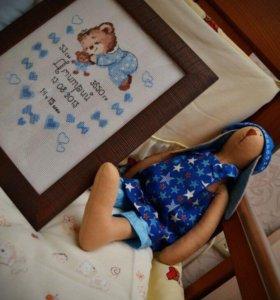 Метрика для новорождённых на заказ.