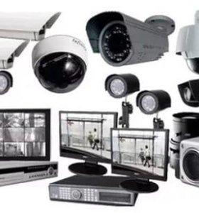 Монтаж установка /продажа видеонаблюдения