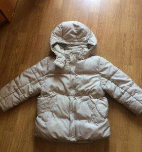 Курточка H&M на 5-6 лет, на холодную осень!