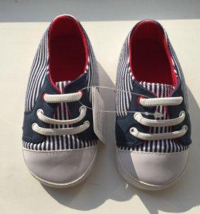 Новые ботиночки детские 19 -20 р-р Супер кеды 🤘🏻