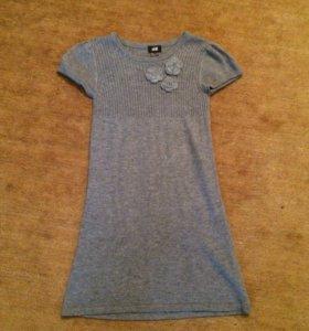 Шерстяное платье 122-128
