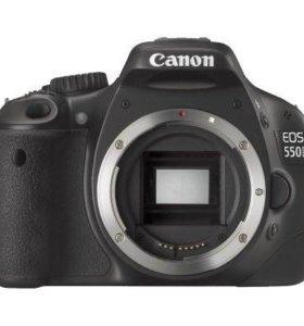 Зеркальная камера canon 550 d