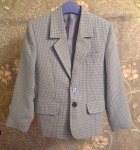 Пиджак для мальчика рост 122