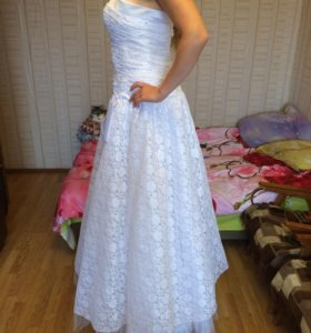 Свадебное платье р 52