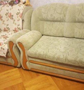 Набор мягкой мебели 2 кресла-кровати и диван