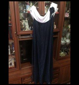 Вечернее платье размер 56/58