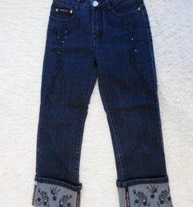 Бриджи джинсовые 25 р-ра