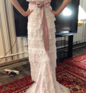 Свадебное-вечернее платье