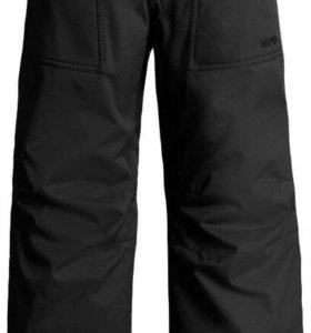 Сноубордические штаны 146-152 см цвет хакки.