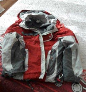 Куртка осень 134 рост