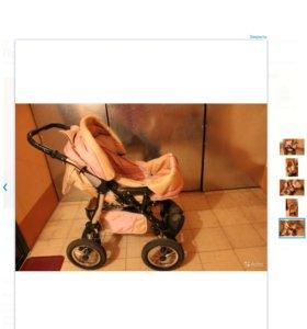 Продам коляску-трансформер для девочки