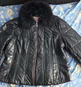 Куртка тёплая короткая