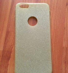 Силиконовая крышка на Айфон6 (5.5)